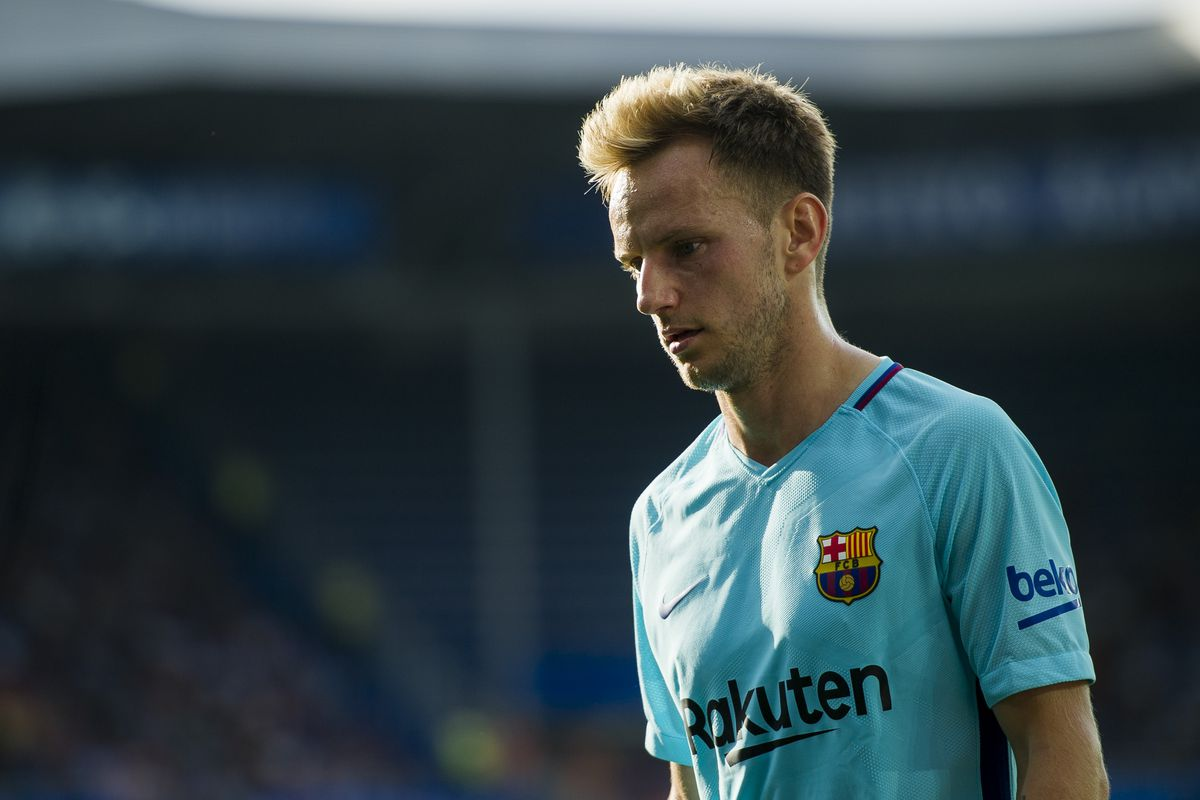 Rakitic Injured Barca Blaugranes