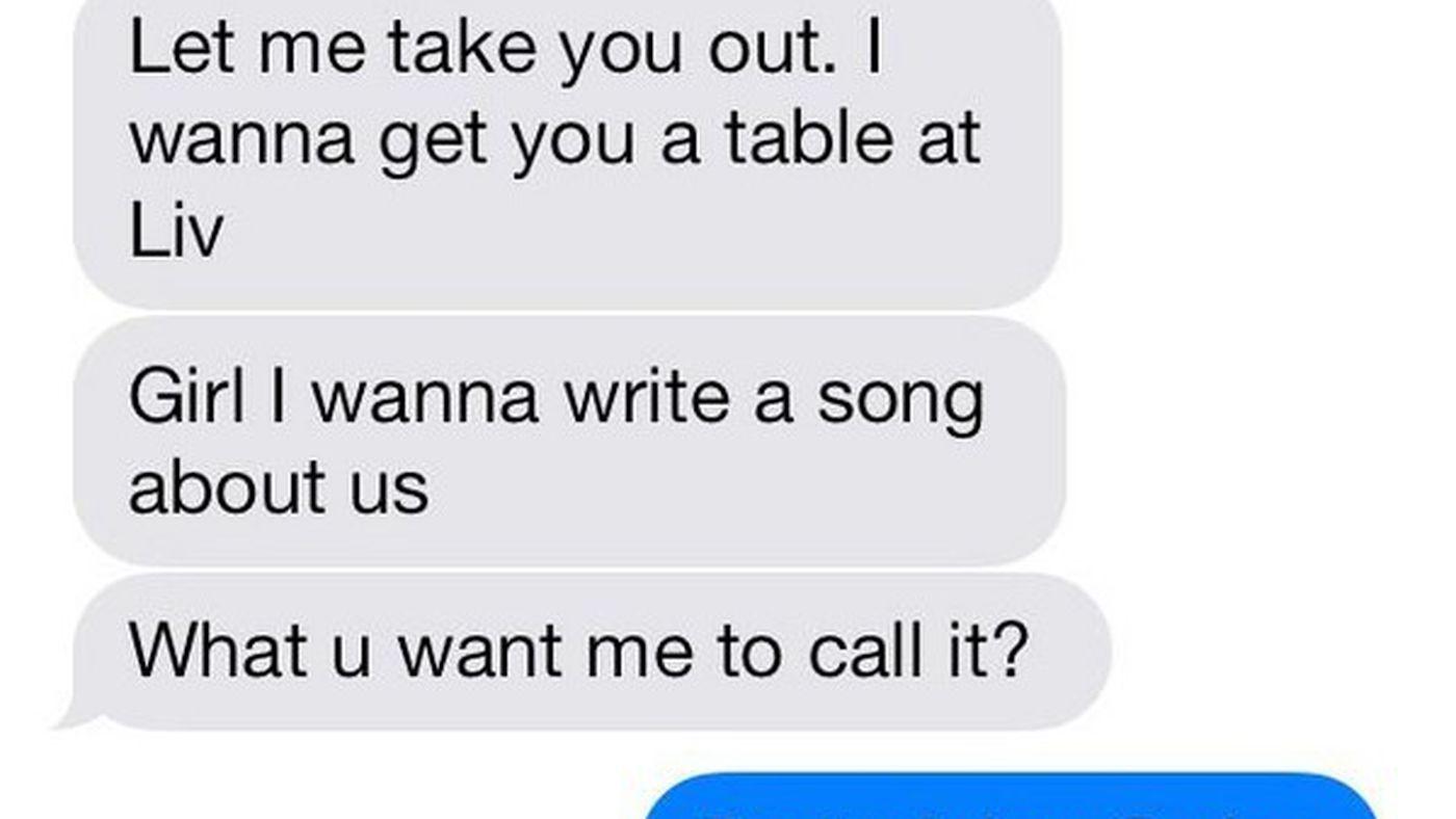 crazy girl texts