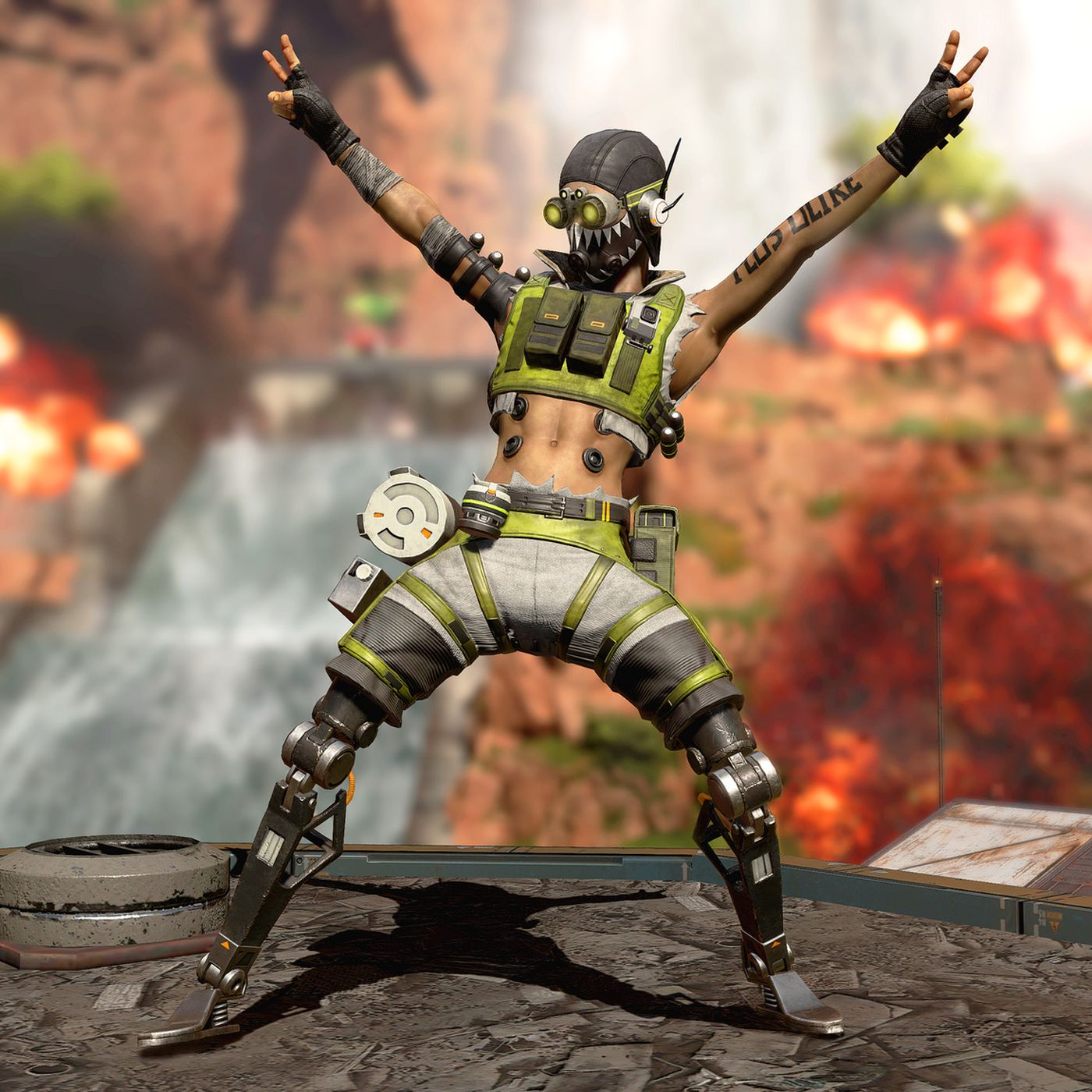 Apex Legends' Octane: character abilities, battle pass skins, and more -  Polygon