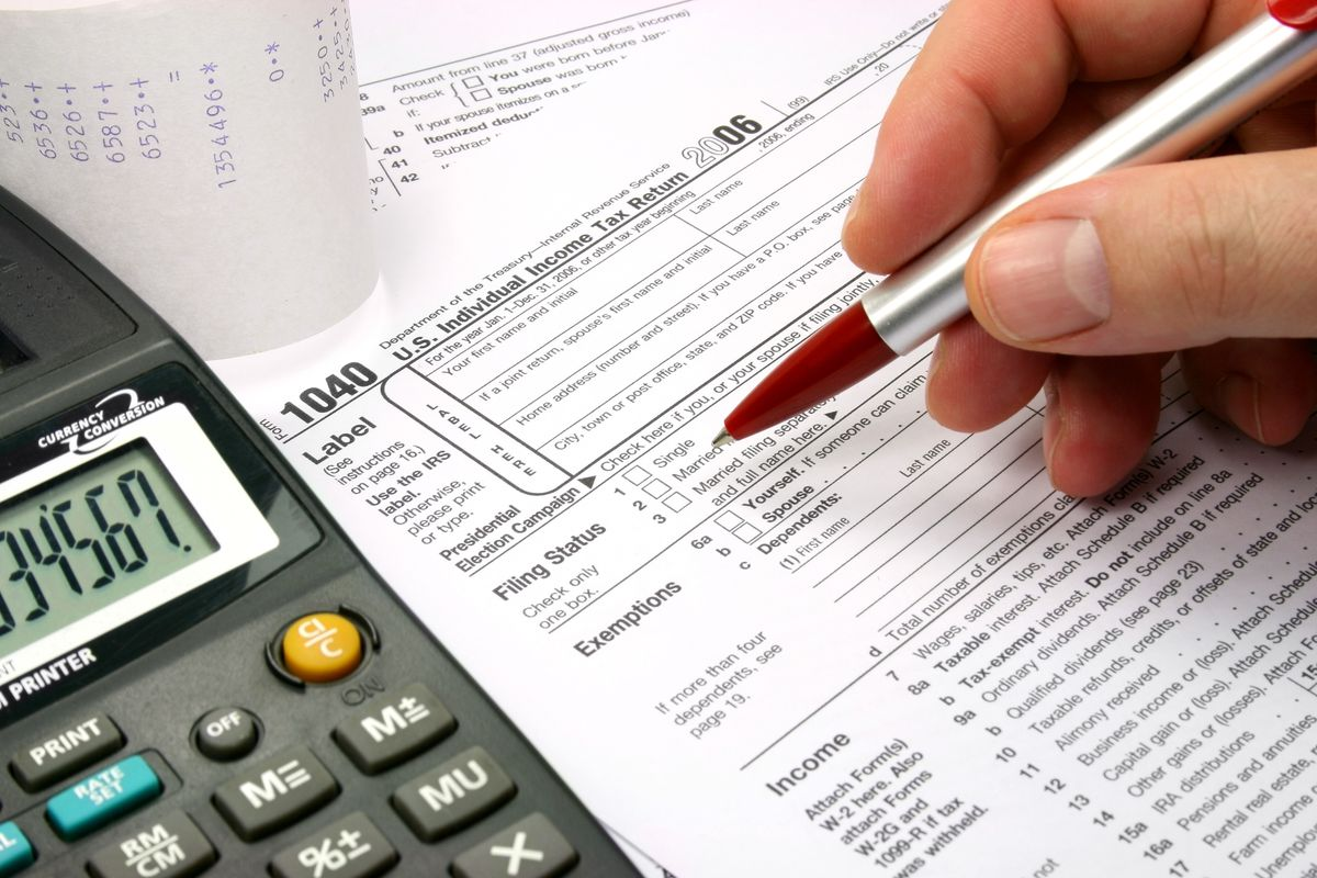 Make sure you enter the correct filing status on all tax forms. | stock.adobe.com