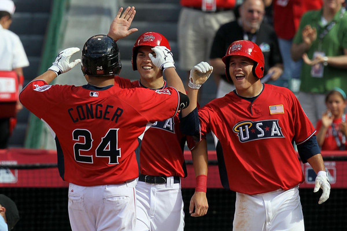 Hank Conger visited Anaheim for the Futures Game in July and will be there for the foreseeable future beginning Today!