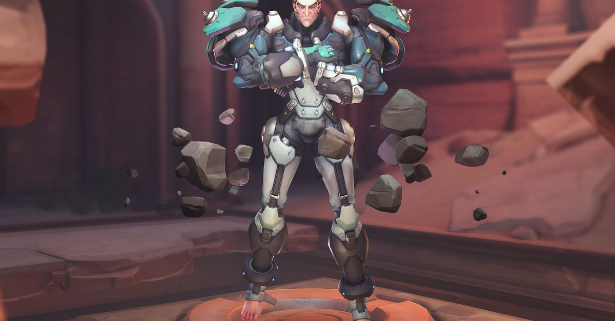 Väghus Lunar yta Snövit  Overwatch's new hero, Sigma, has bare feet and people are freaking out -  Polygon