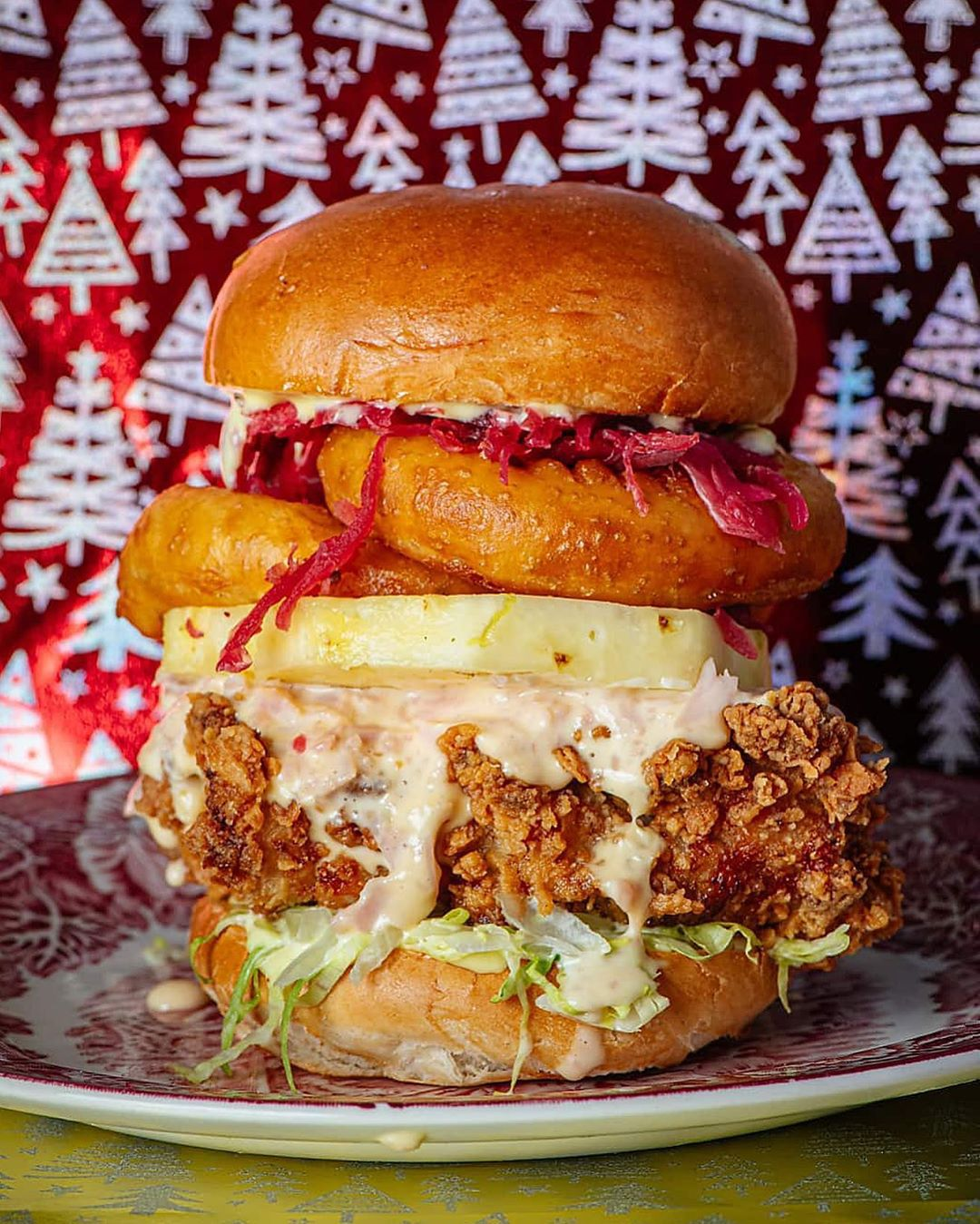 Chick 'n' Sours' 70s Christmas effort is one of this year's most extra sandwiches in London