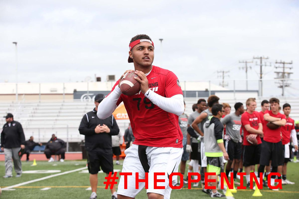 Wisconsin commit Kare Lyles threw two touchdowns in a tough loss to Peoria Centennial Friday night.