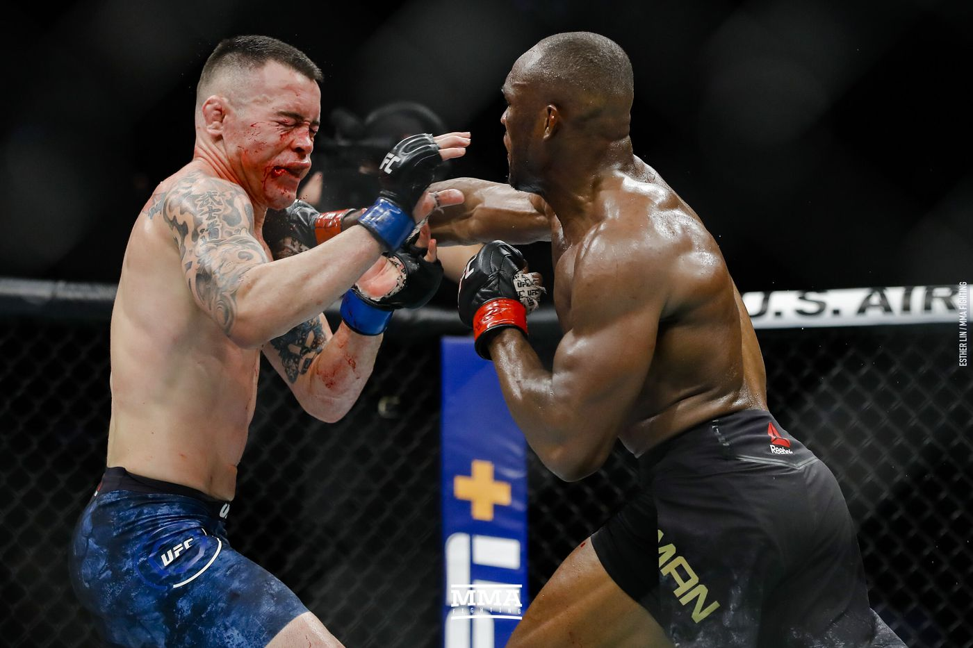 Kamaru Usman Vs Colby Covington Full Fight Video Highlights Mma Fighting