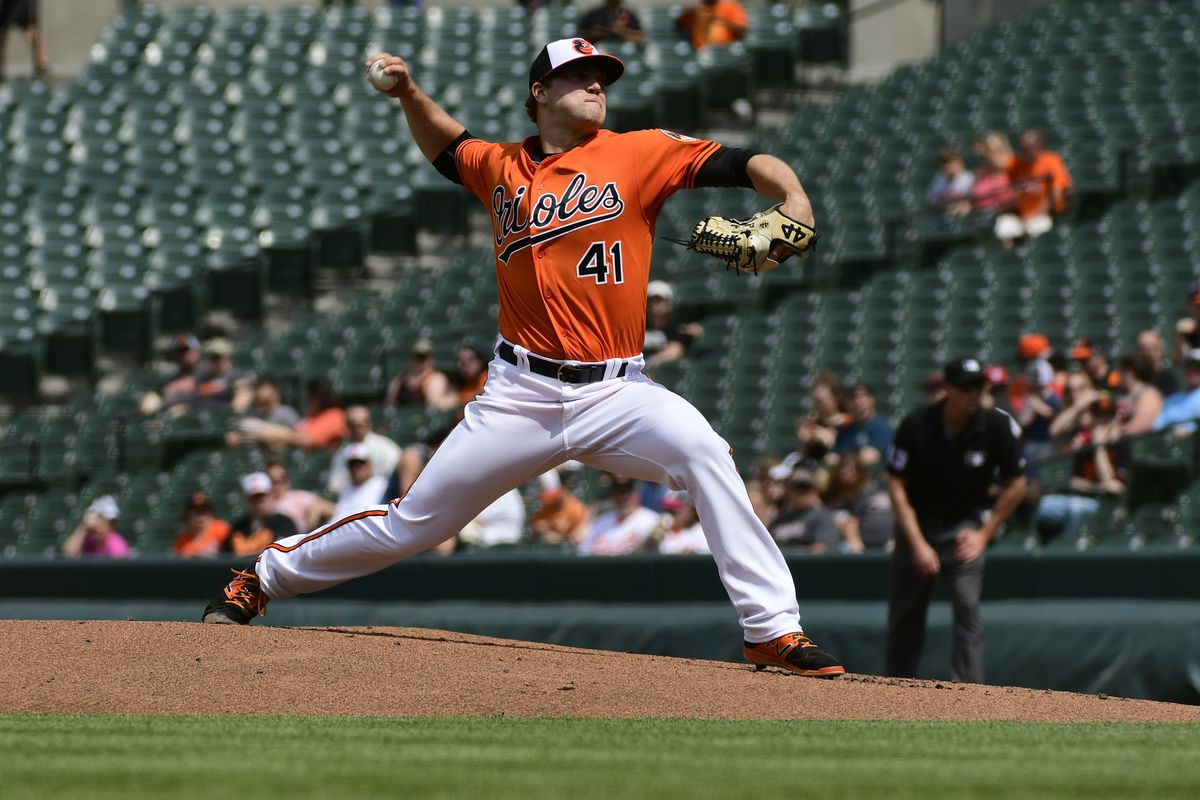 MLB: Game One-Tampa Bay Rays at Baltimore Orioles