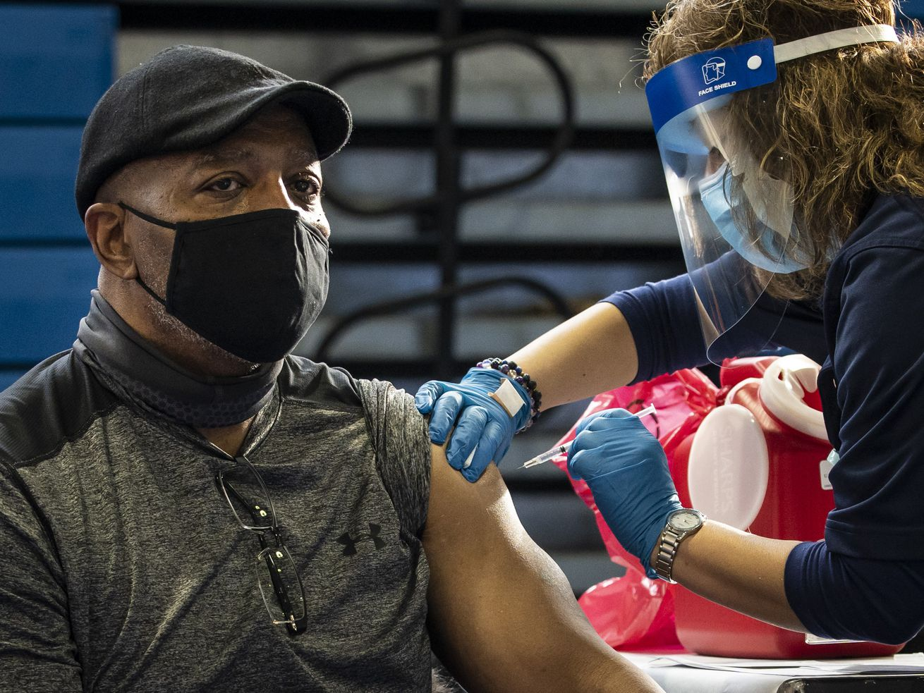 Officials are urging more residents to roll up their sleeves and get the vaccine.