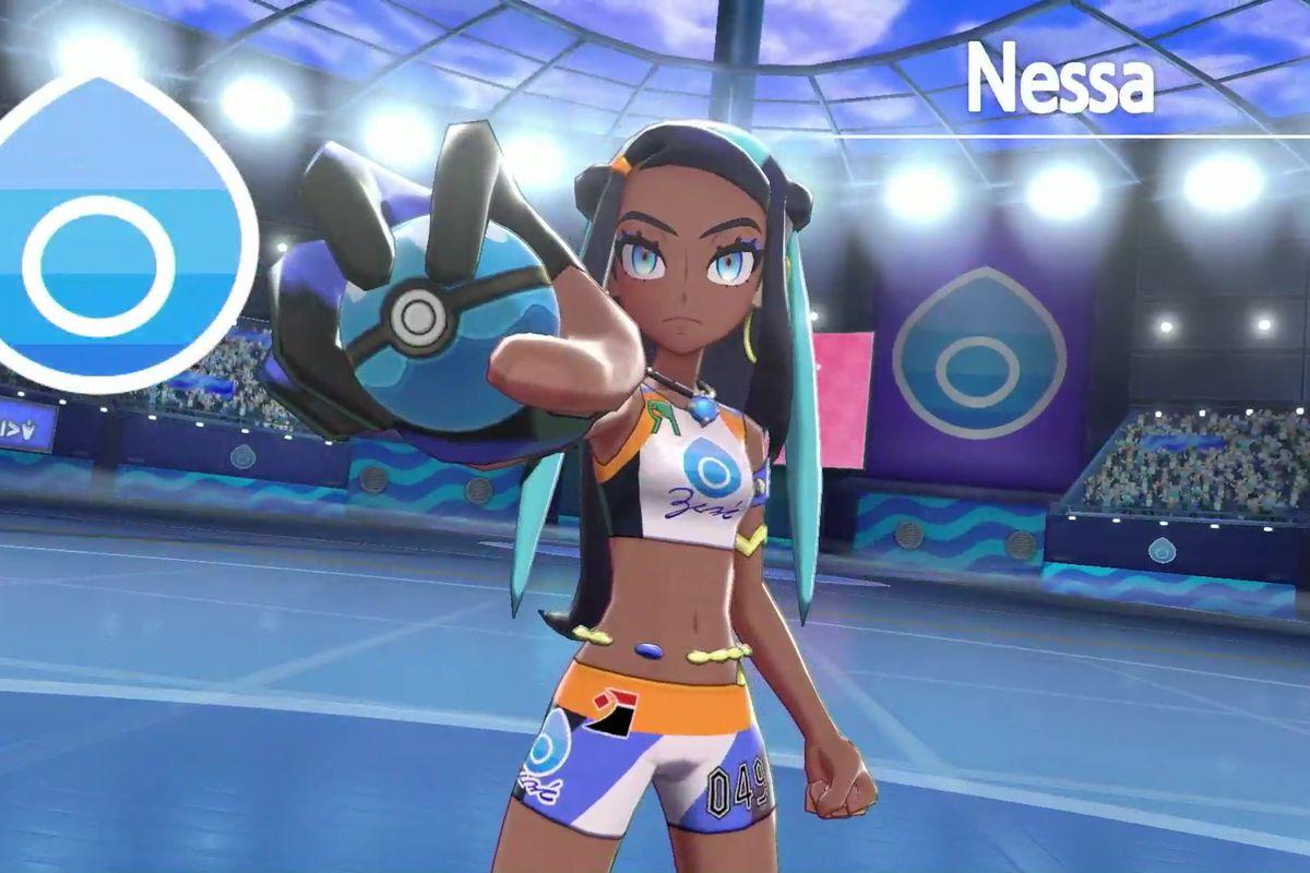 Pokémon Sword & Shield gym leader Nessa