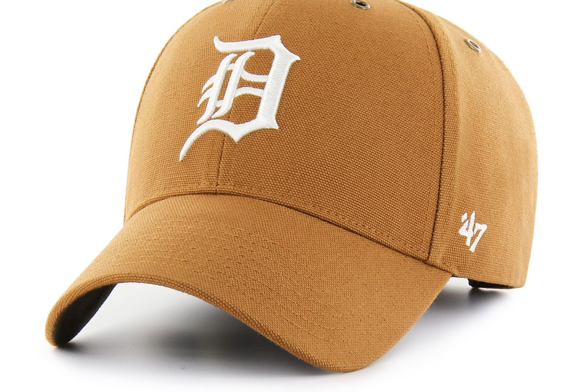 Carhartt and  47 Brand are creating a new Tigers collection - Bless ... 7a32186a6ad