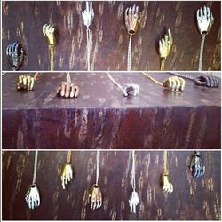 """<a href=http://instagram.com/verameat>@verameat</a>: """"Let us give you a #hand in the #brooklyn store! We have #copper #goldbrass #silver and #oxidizedsilver. Drop by or call 718.388.2500 for more info!"""""""