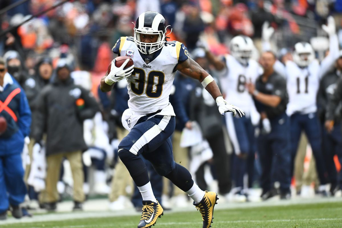 outlet store 110ff acc89 Todd Gurley is on pace for record-breaking numbers and no ...