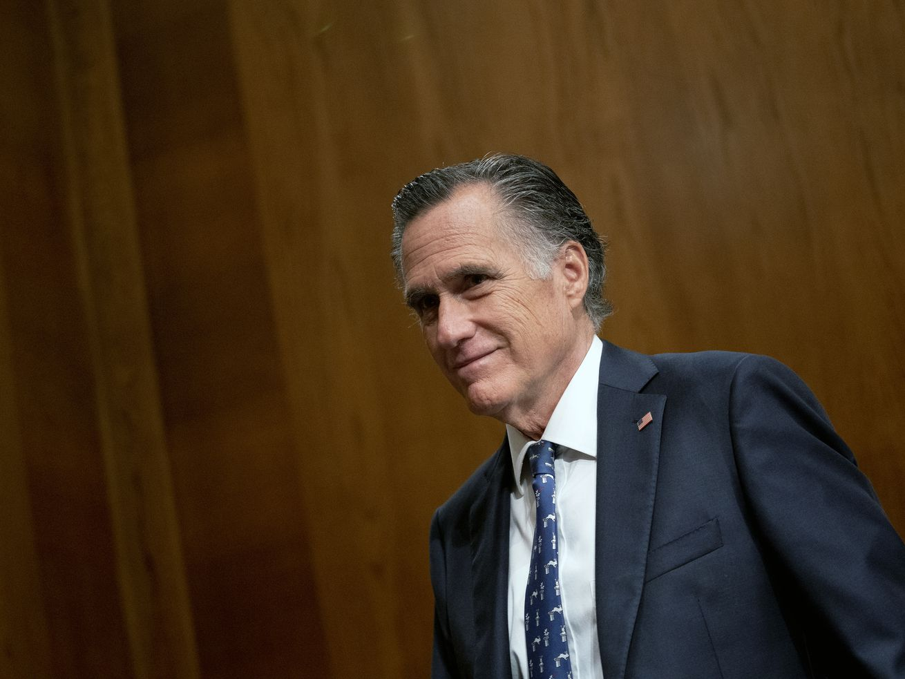 So Mitt Romney brought J Dawgs, BYU Creamery ice cream and chocolate milk to Washington for a Republican lunch