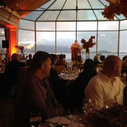 Festival Co-Founder David Bernahl addresses diners at the Grand Finale (a $1,250 meal)
