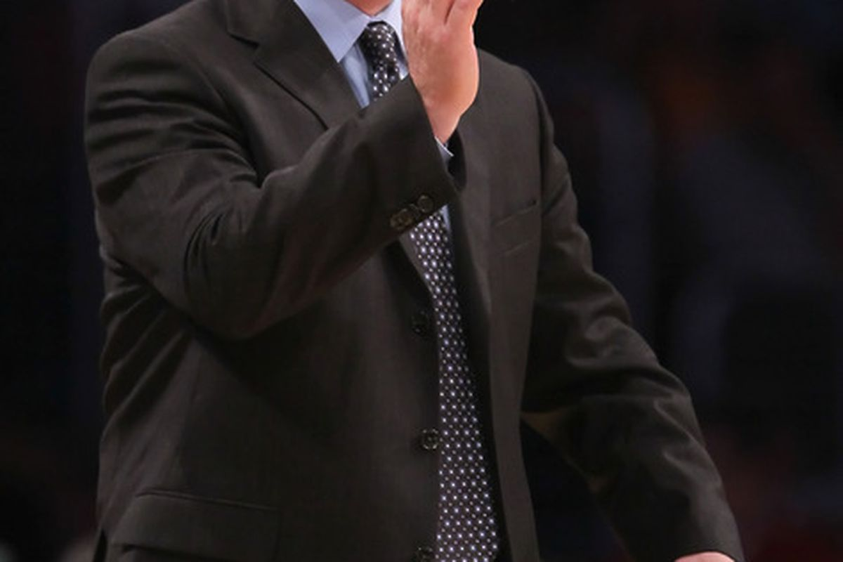 Who wants to come play for the Milwaukee Bucks and get yelled at by Scott Skiles? Any takers? Anyone? (Photo by Jeff Gross/Getty Images)