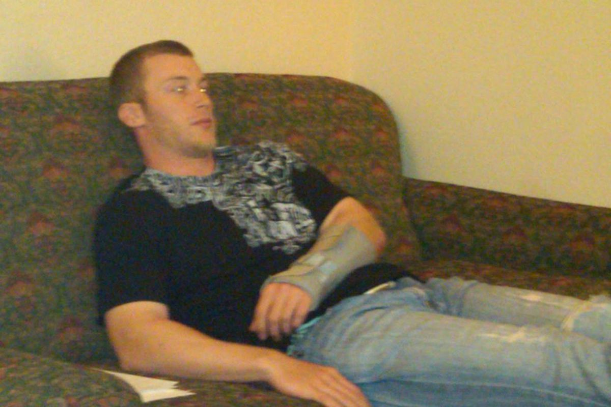 Zombie Antonelli on the Couch