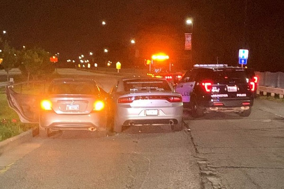 An Indiana State Police trooper shot a man June 2, 2020, after he allegedly hit the trooper with a car in East Chicago after a chase from Munster.