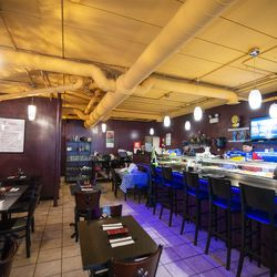 Volcano Sushi Cafe in Little Italy. | Tyler LaRiviere/Sun-Times
