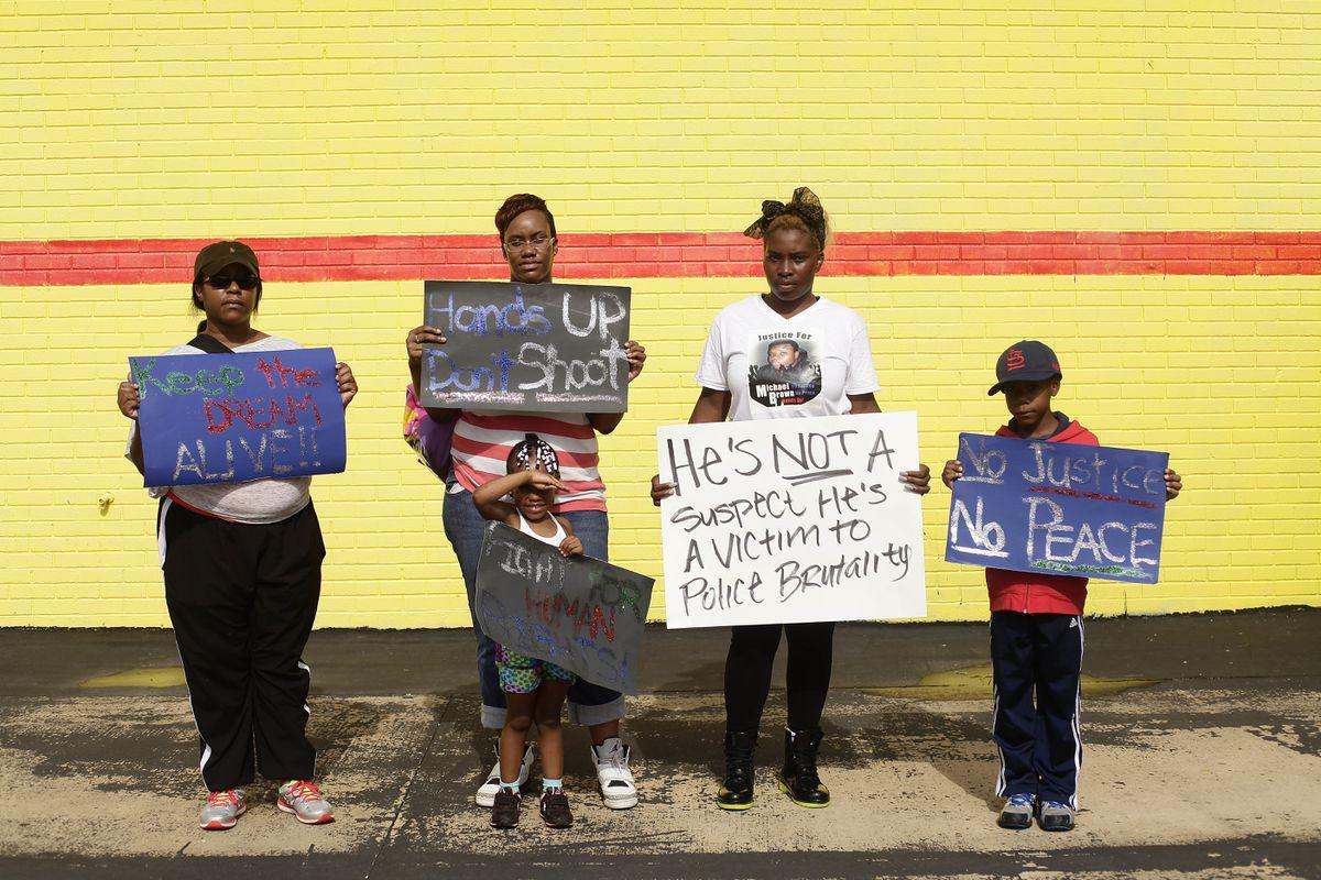 Ferguson Protest Signs