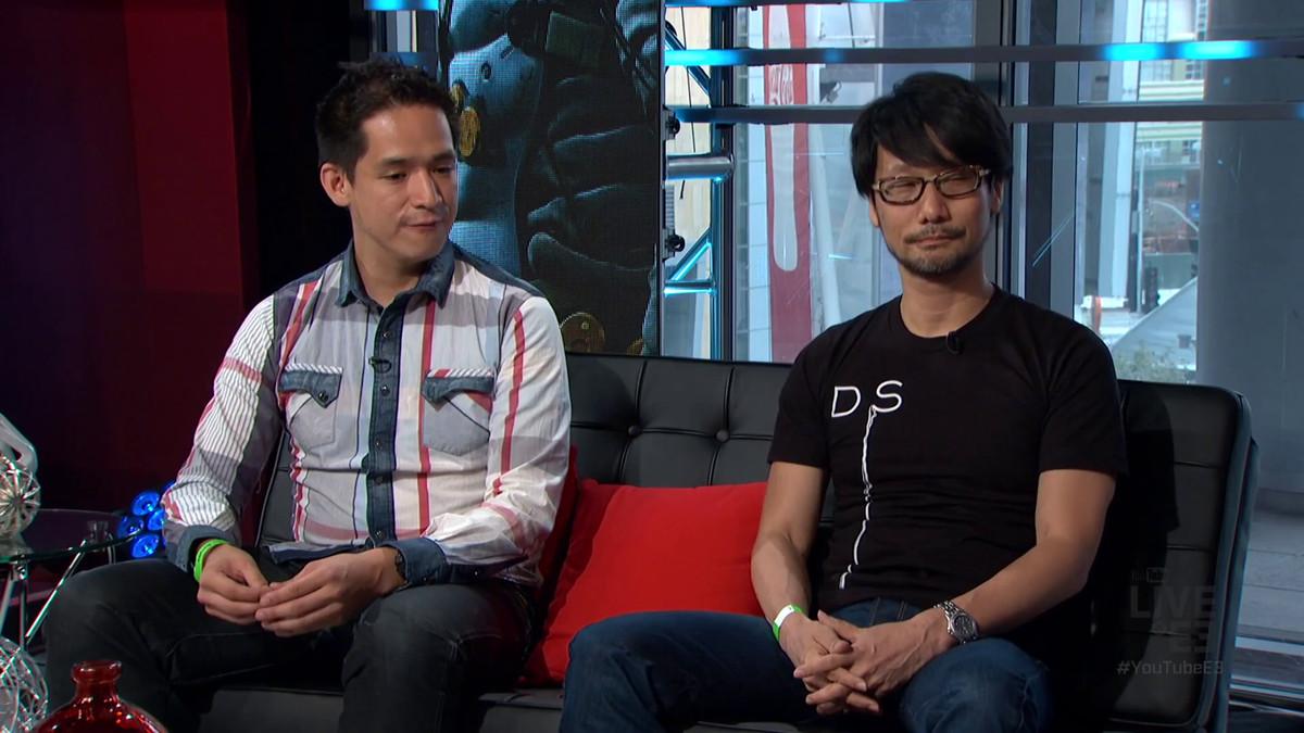 Hideo Kojima DS shirt