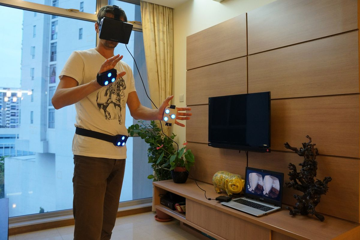iMotion and Oculus Rift (via Intellect Motion)