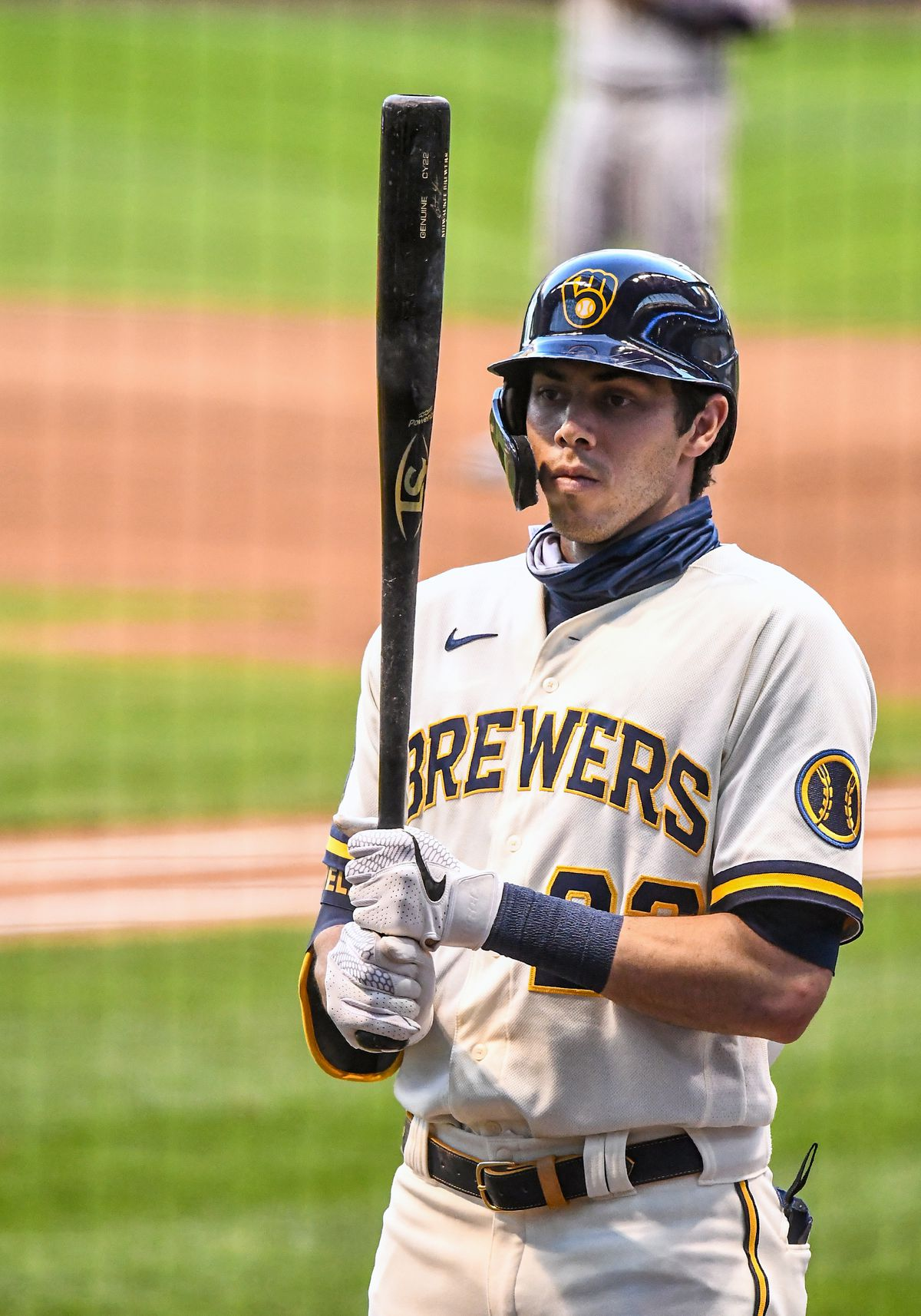 MLB: AUG 12 Twins at Brewers