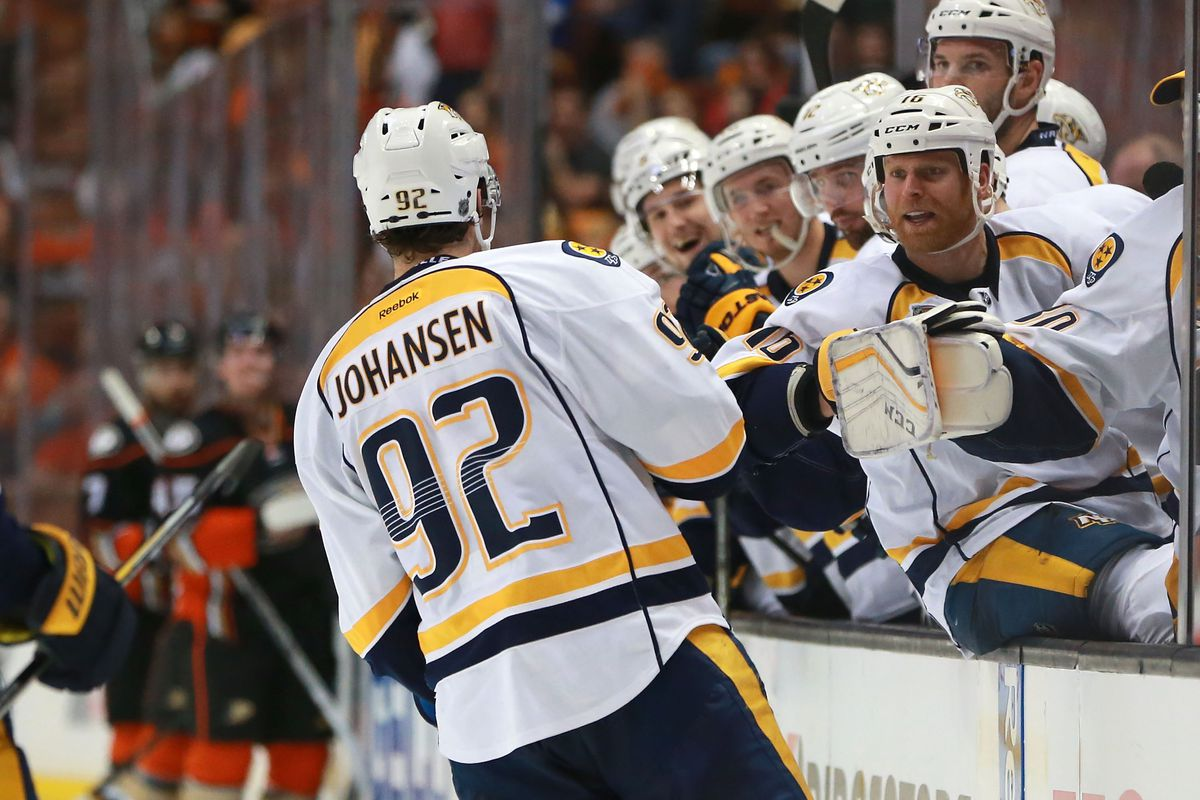 Predators sign Johansen to new contract