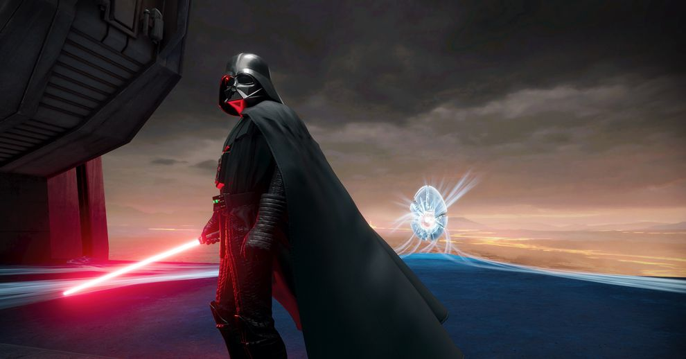 Vader Immortal is what a 'theme park film' actually looks like, and it's great