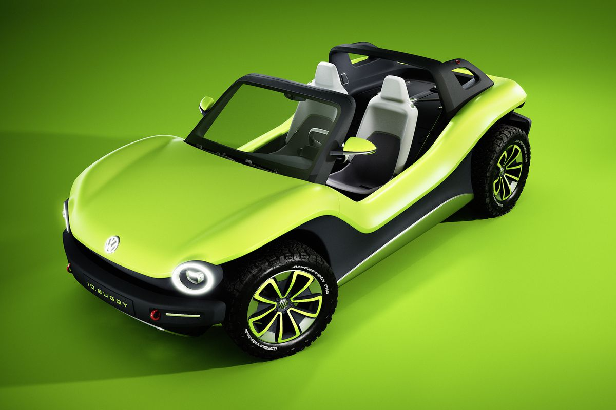 In January Volkswagen Teased A New Electric Dune Buggy