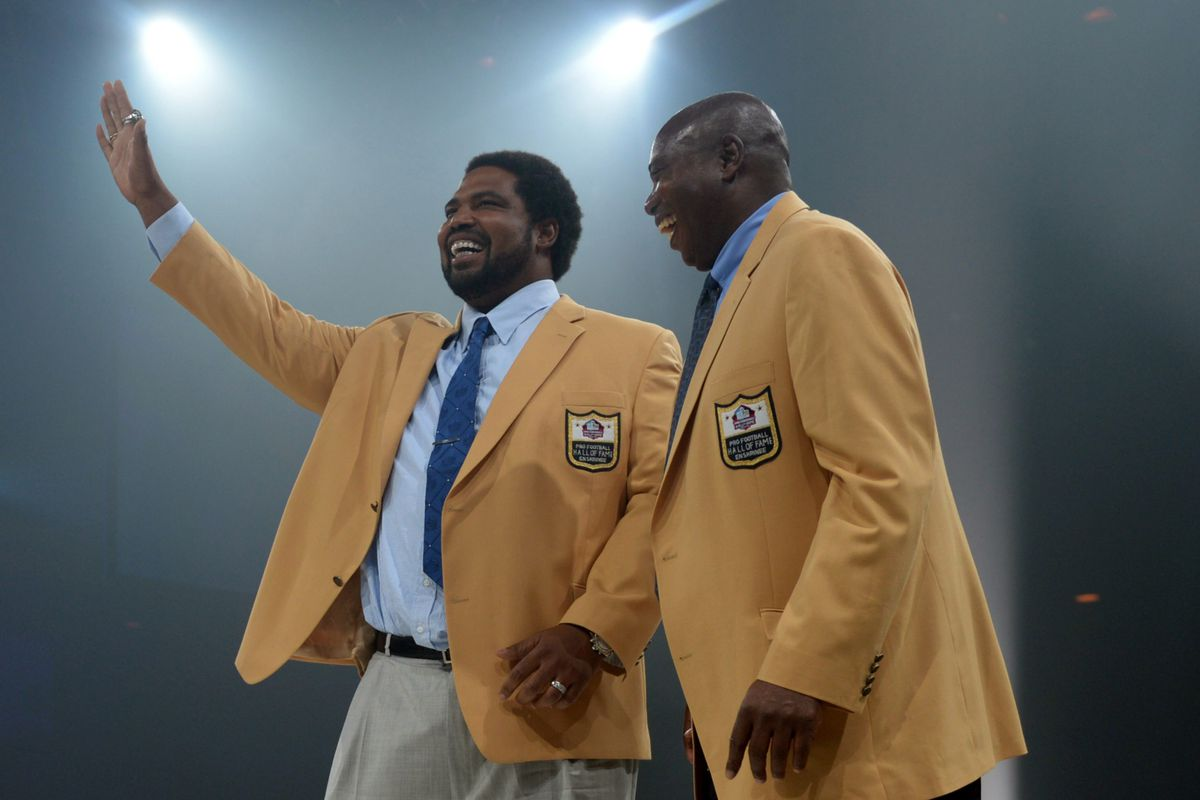 Hall of Fame Day for Jonathan Ogden today.