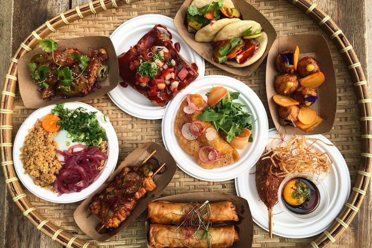 Dishes from Pinoy Heritage