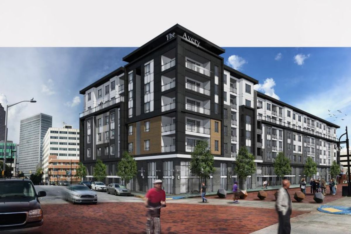 First Underground Atlanta apartments— 'The Avery'—reveal ...