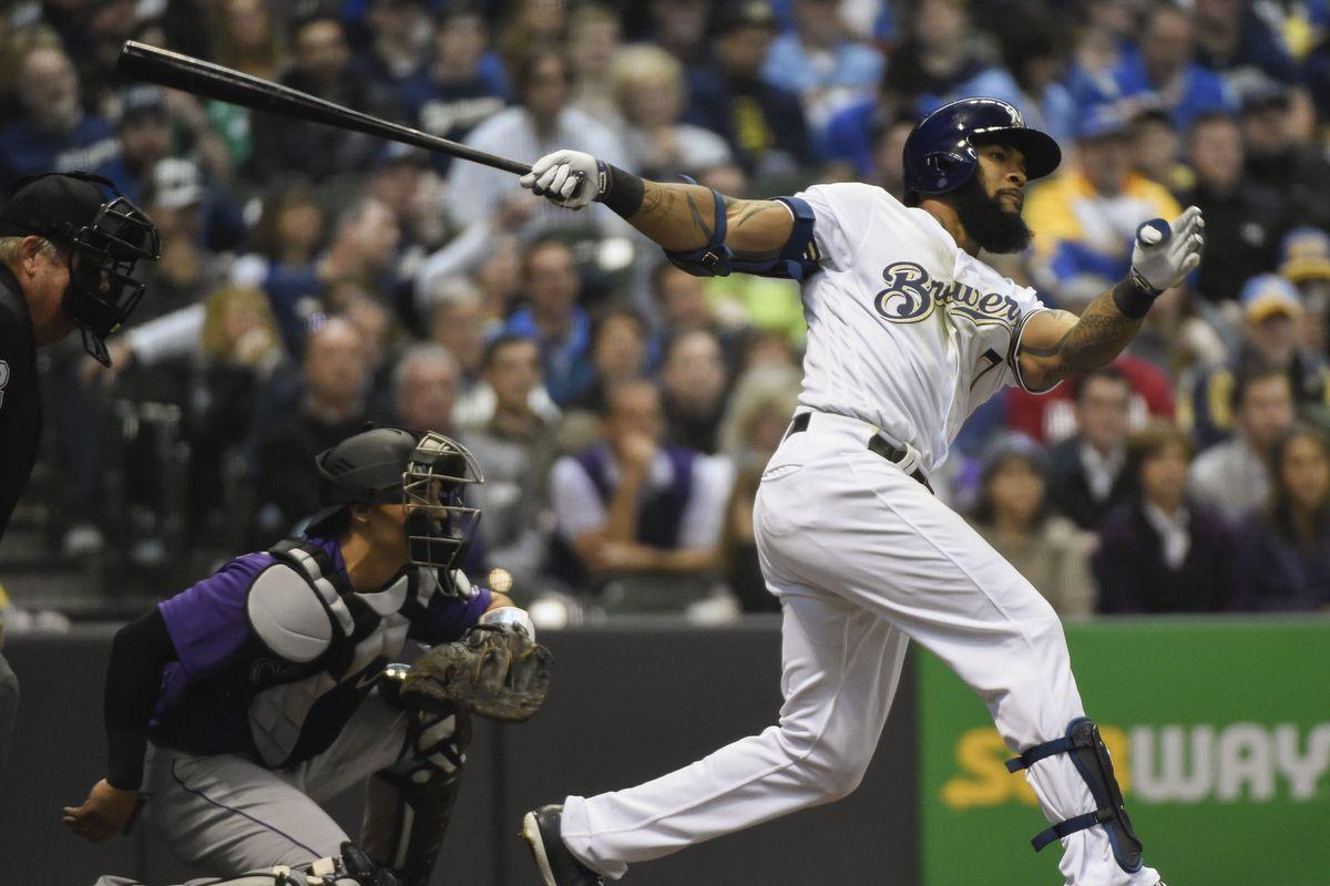 MLB: Colorado Rockies at Milwaukee Brewers