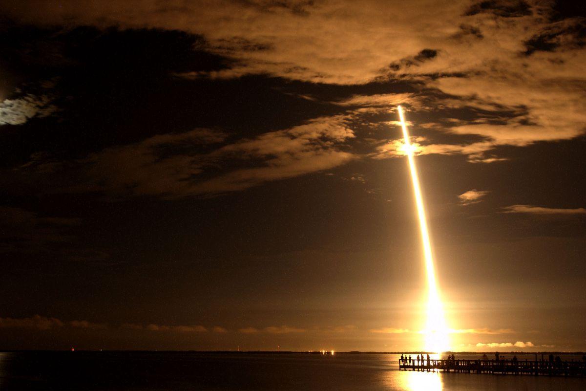 NASA's CONTOUR Rocket Launches