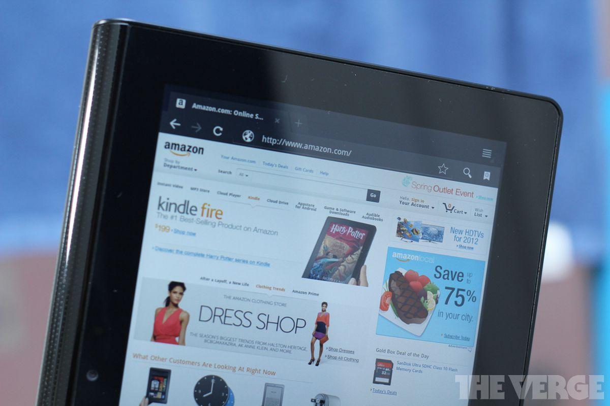 Amazon website redesign stock 1024