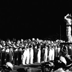 1984- Marching Chiefs perform at halftime