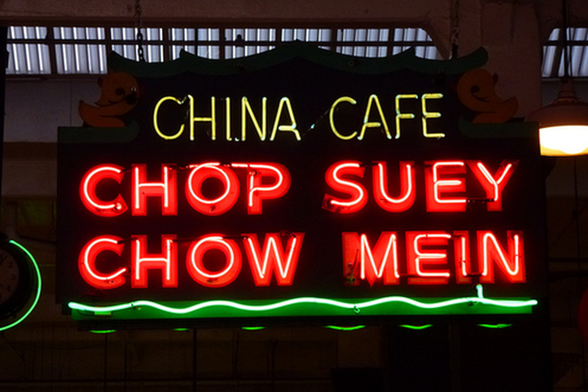 China Cafe at Grand Central Market, Downtown.