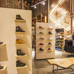 The small but mighty shoe shop features an edited selection of athletics and go-to boots.