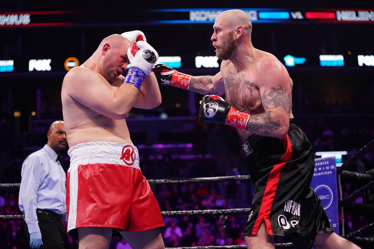 Adam Kownacki and Robert Helenius rematch on the Fury-Wilder 3 card