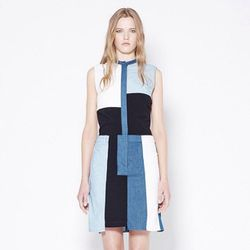 """<a href=""""http://instagram.com/p/at4nqhs_3g/"""">@31philliplim</a>: Denim cut-up dress in cotton chambray #SS13 #sale"""