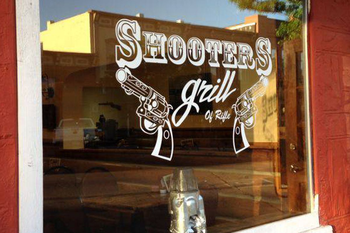 The Waitresses Pack Loaded Guns At Shooters Grill In Rifle