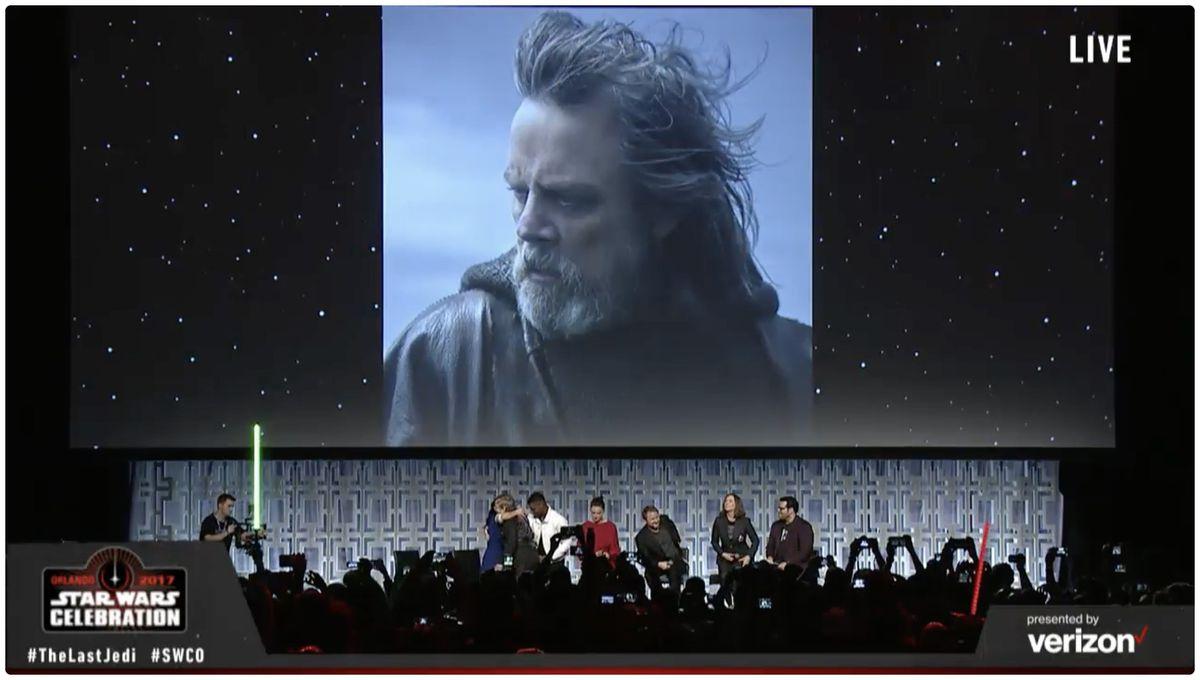 Star Wars The Last Jedi Mark Hamill Luke Skywalker
