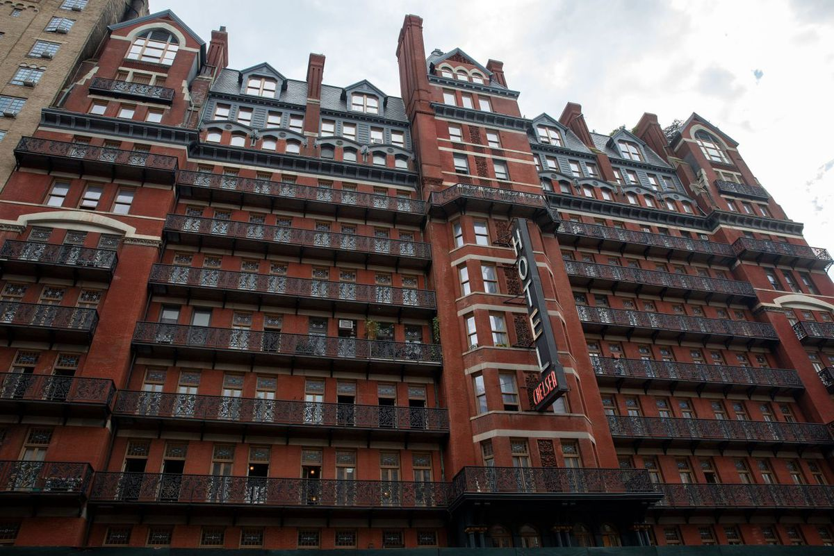The legendary Chelsea Hotel has been undergoing renovations for years.