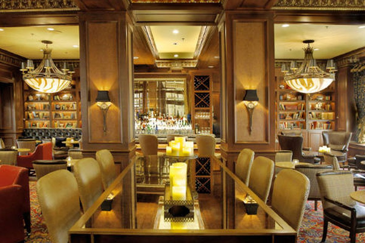 The Library Bar.