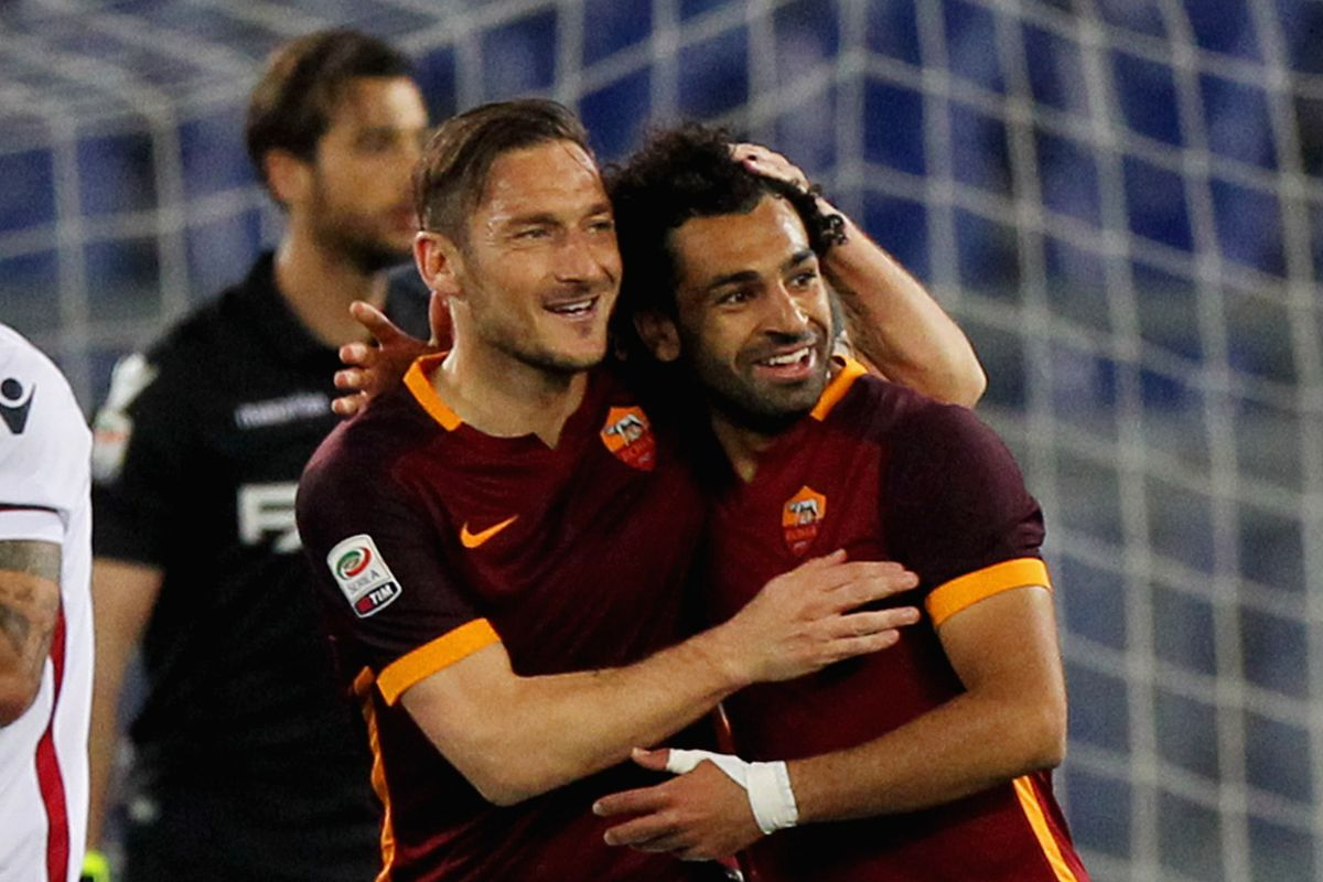 Totti unsurprised by Salah Liverpool success: He always wants to improve