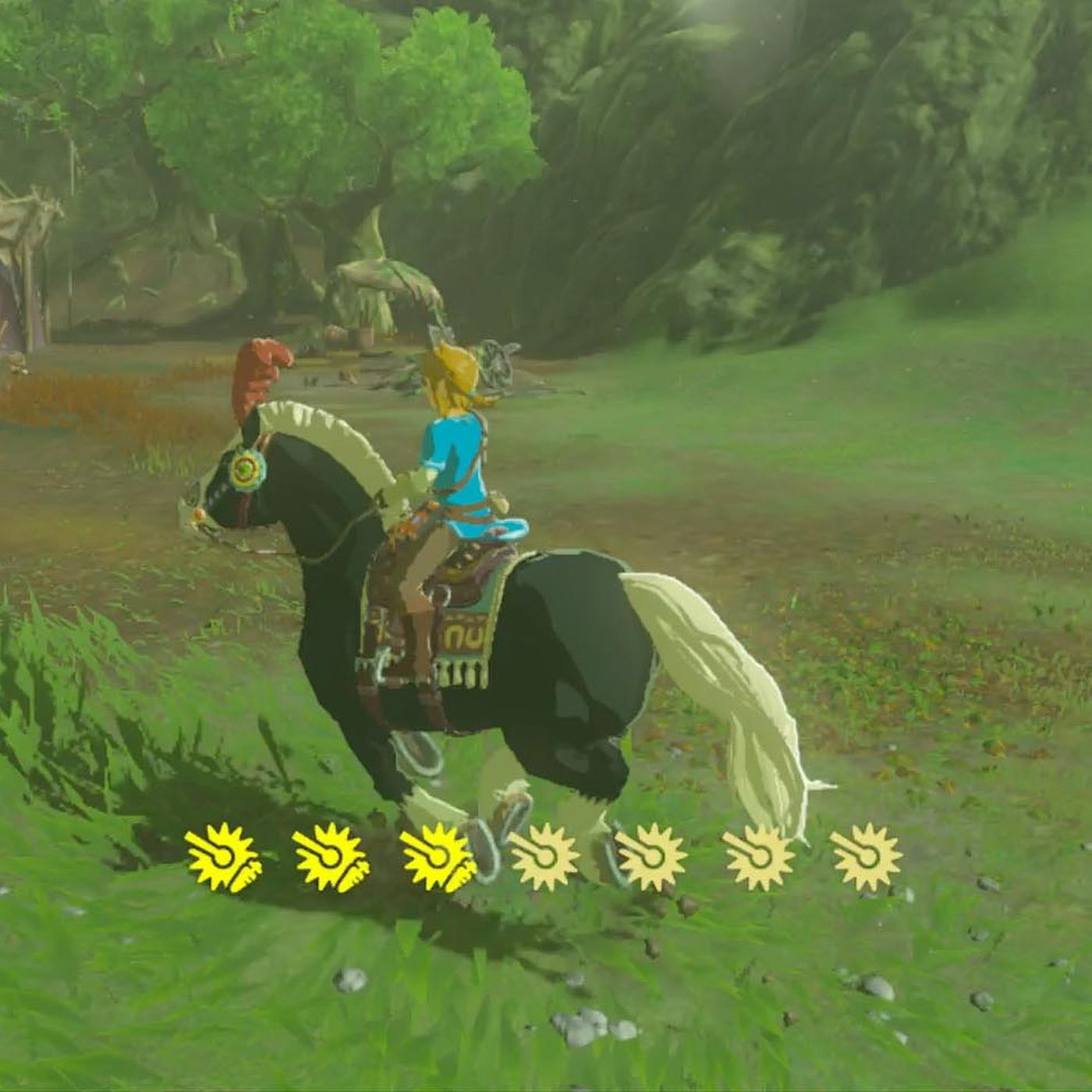 Zelda Breath Of The Wild Guide How To Get Extra Stamina For Your Horse With Endura Carrots Polygon
