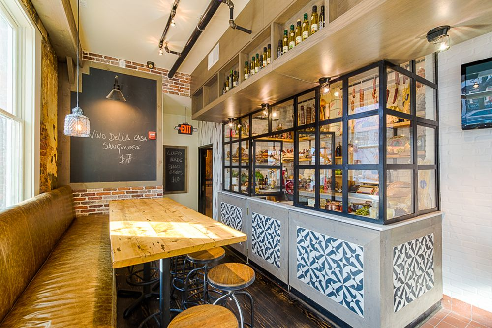 One Of Seemingly Infinite New Restaurants To Open On 14th Street Since The Last Time Thanksgiving Rolled Around Cozy Italian Spot Lupo Verde Will Be