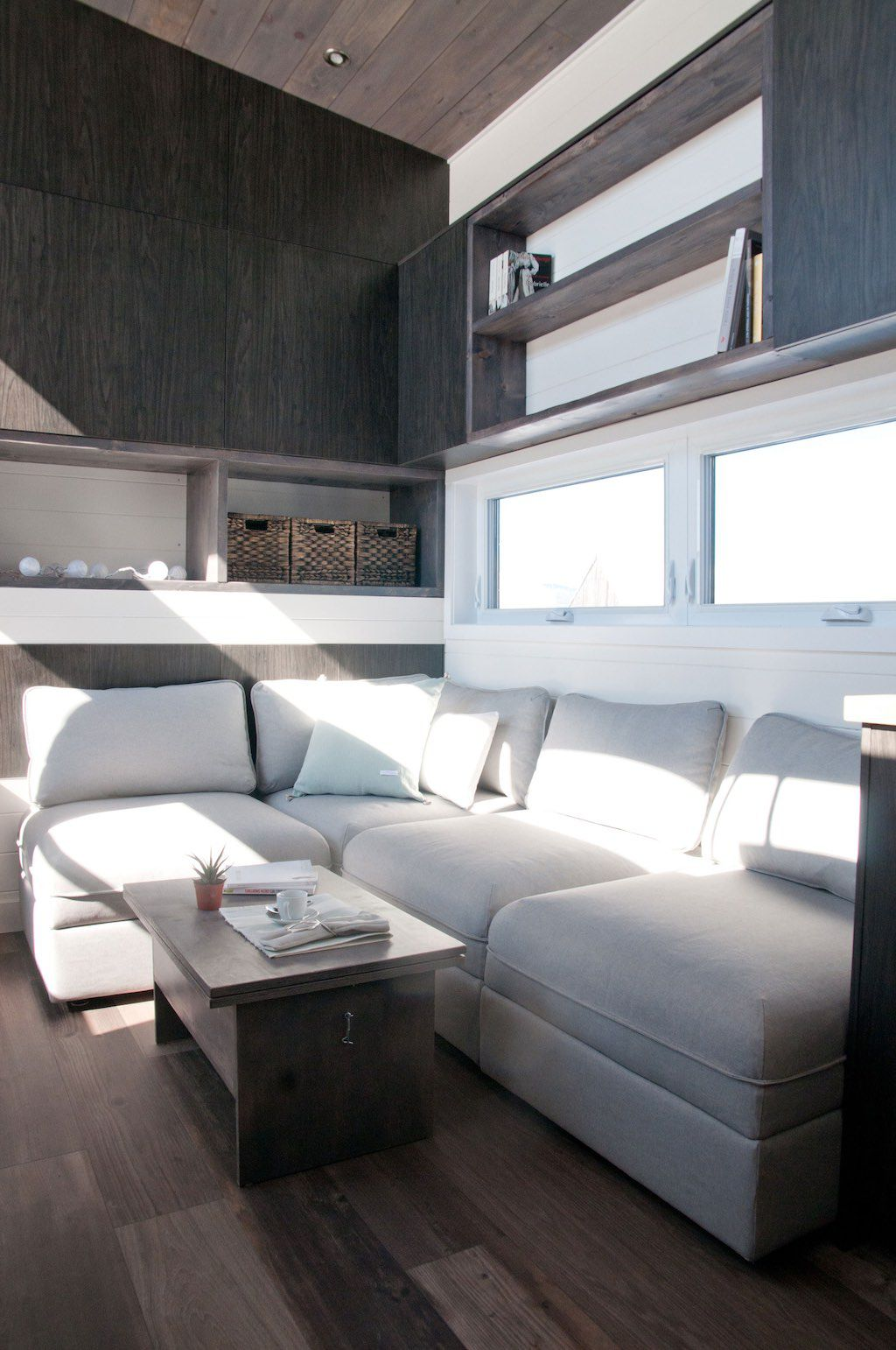 Tiny House With Private Bedroom Offers Minimalist Chic Curbed