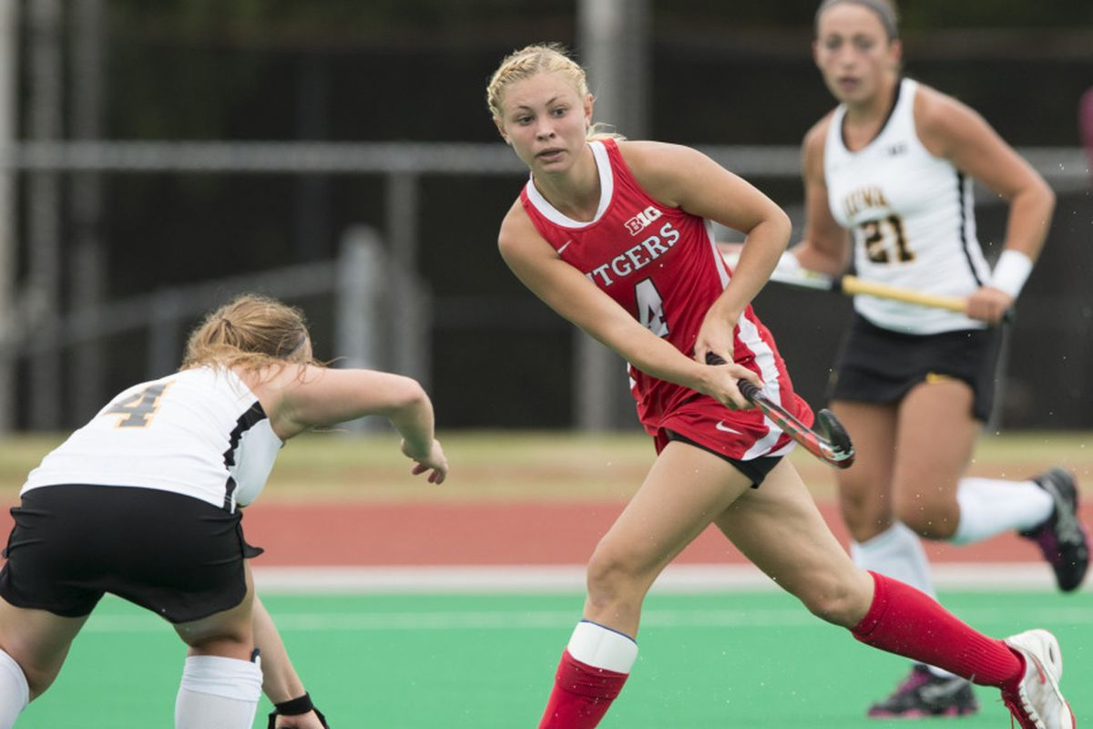 Katie Champion, one of many who led Knights to first B1G win