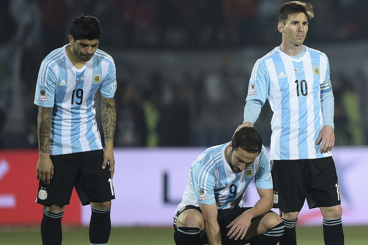 7e1028c66 Lionel Messi just can t win for Argentina