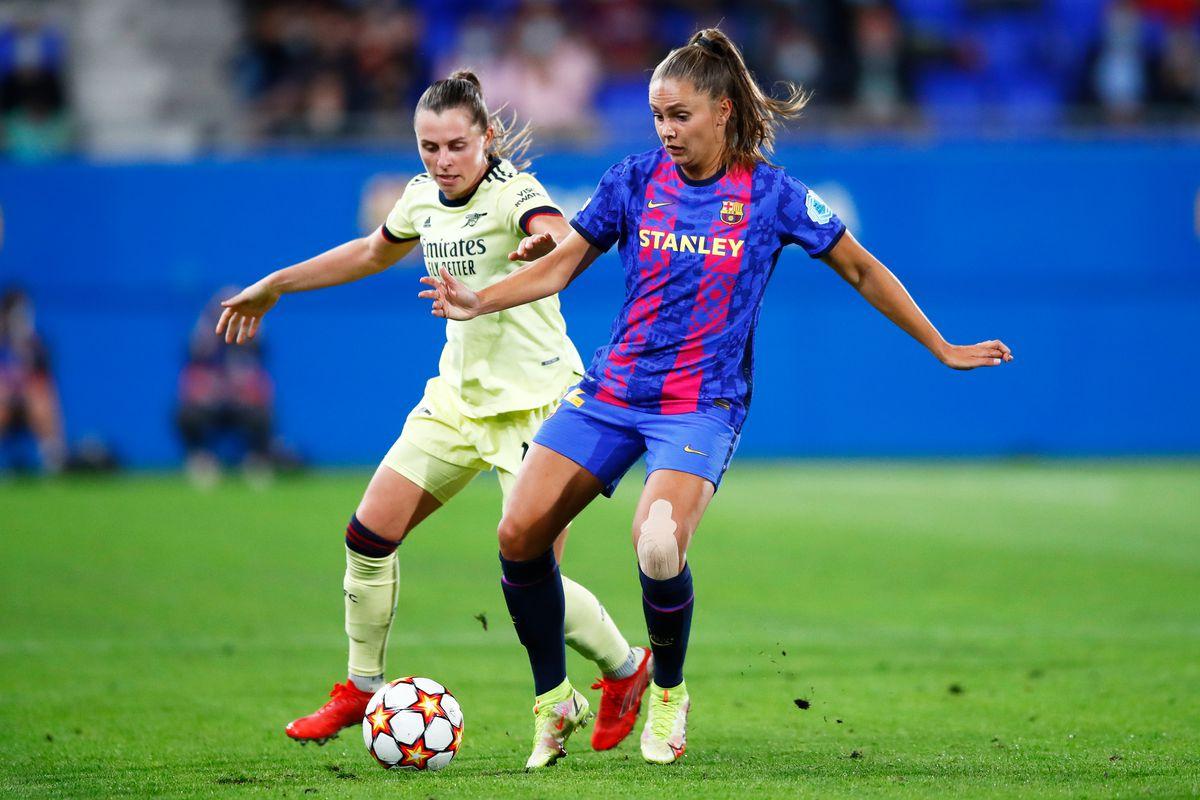 FC Barcelona v Arsenal WFC: Group C - UEFA Women's Champions League
